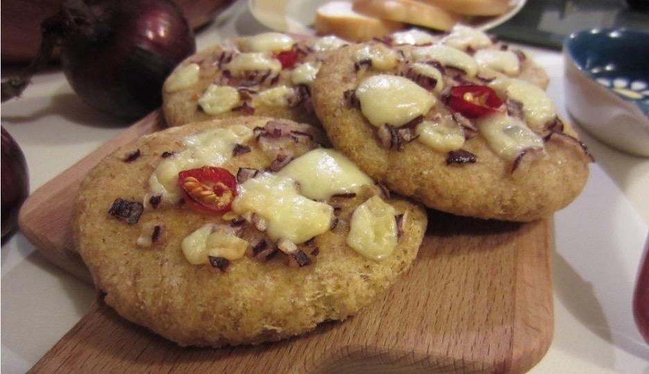 mini pizzas