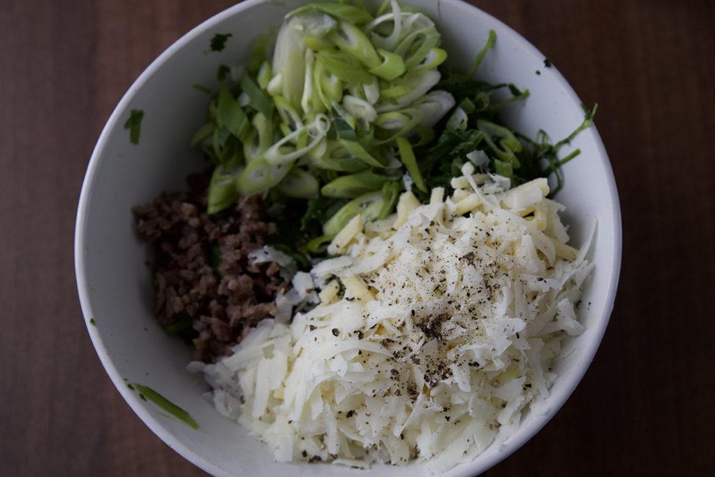 involtini melanzana con spinaci aubergine rolls and spinach