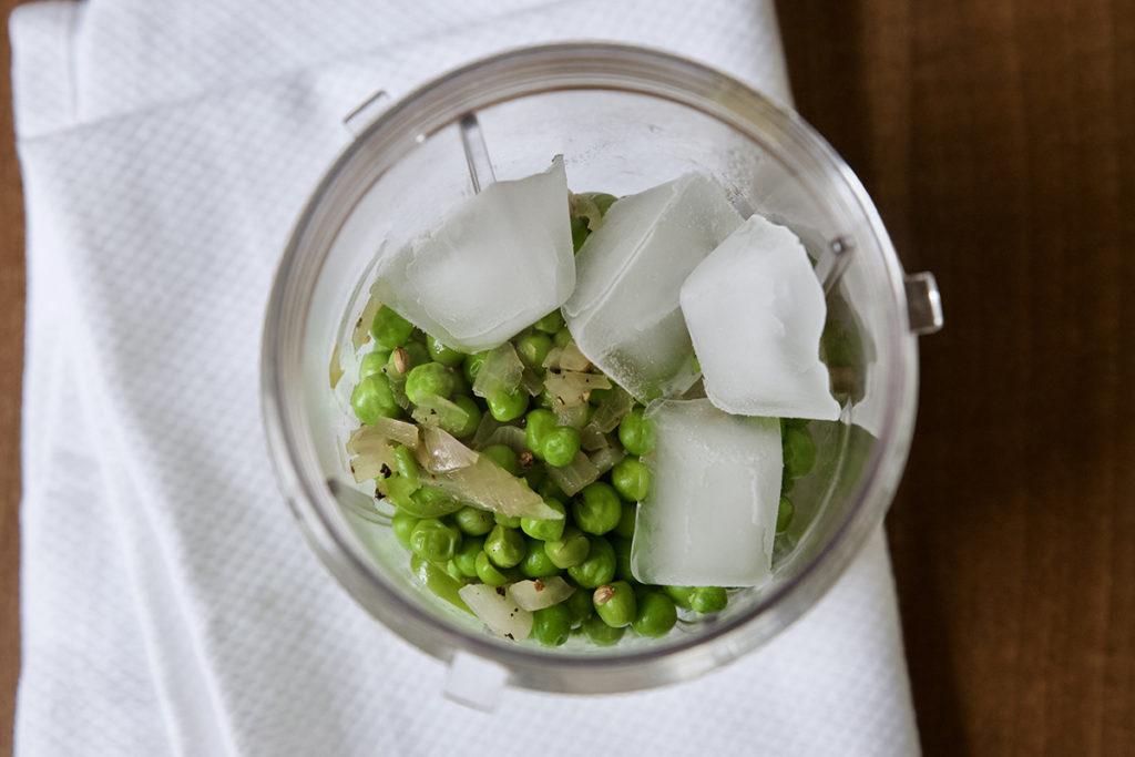 spicy peas cream