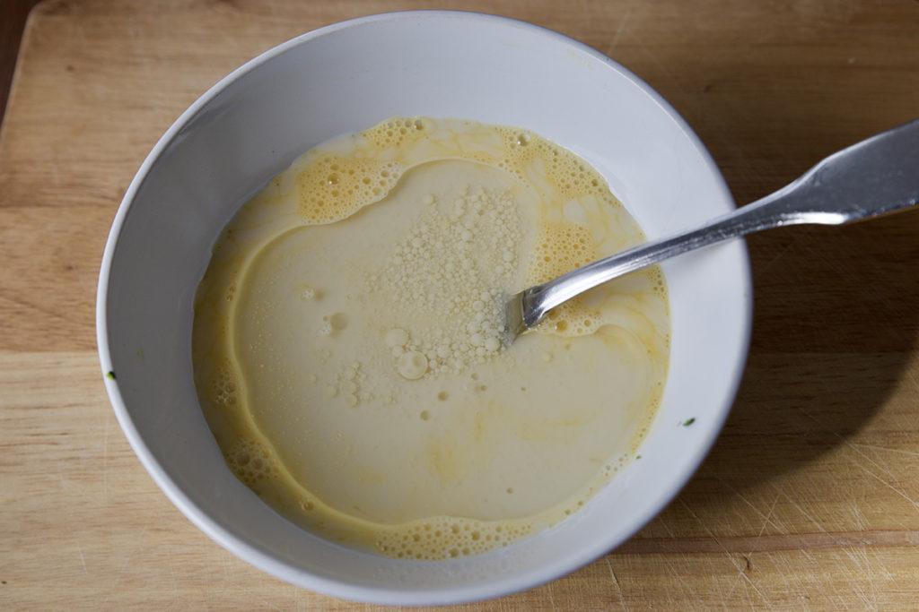 muffin formaggio e zucchine cheese and courgette